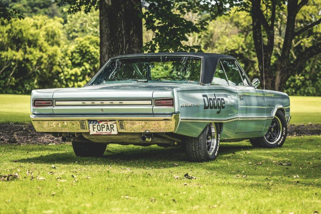 dodge rear